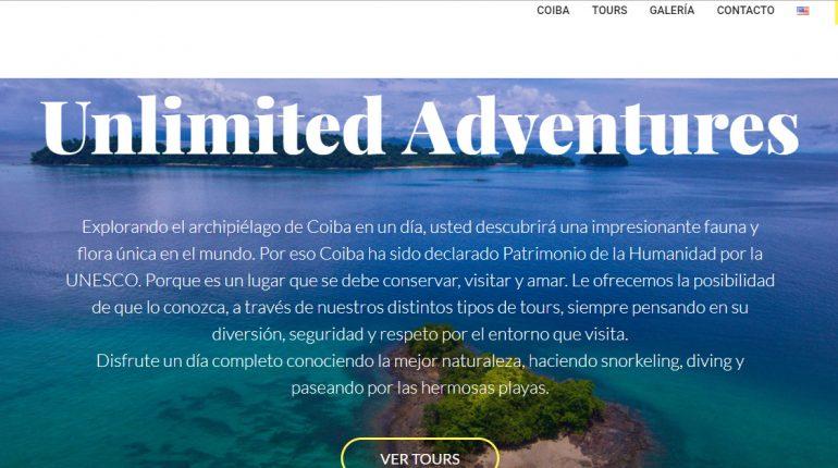 Portada Unlimited Adventures Coiba web