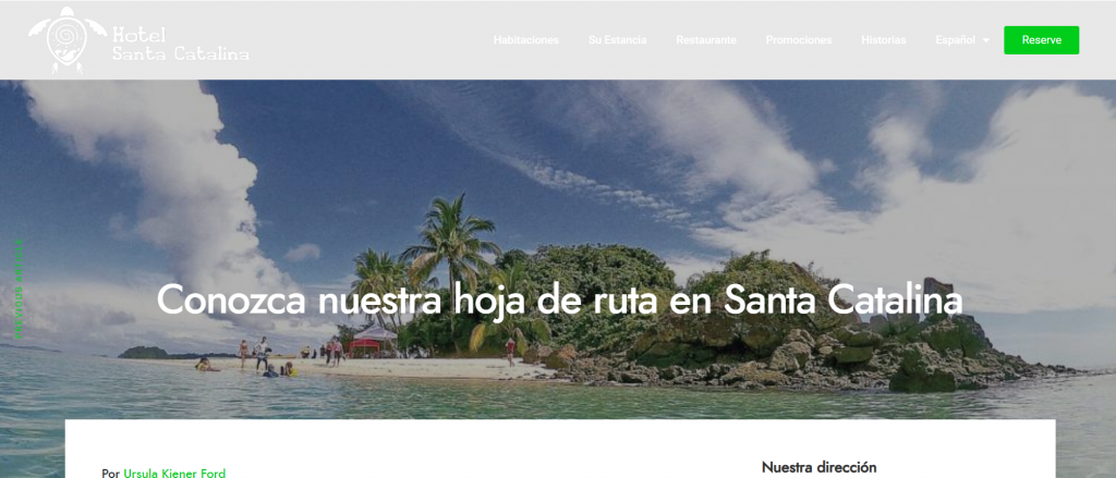 potenciar website etiquetas h1 blog de hotelsantacatalinapanama.com diseño de ecbweb